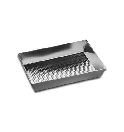 SNB Blacha do pieczenia 36 x 24,5 x 6 cm srebrna