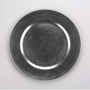 Altom Podkładka pod talerz/ na stół srebrna 33 cm